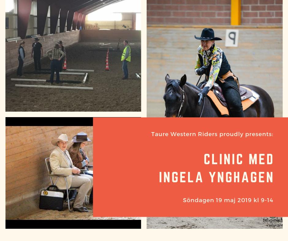 Clinic med Ingela Ynghagen